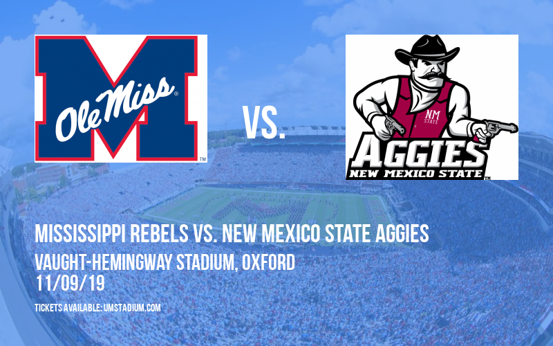 Mississippi Rebels vs. New Mexico State Aggies at Vaught-Hemingway Stadium