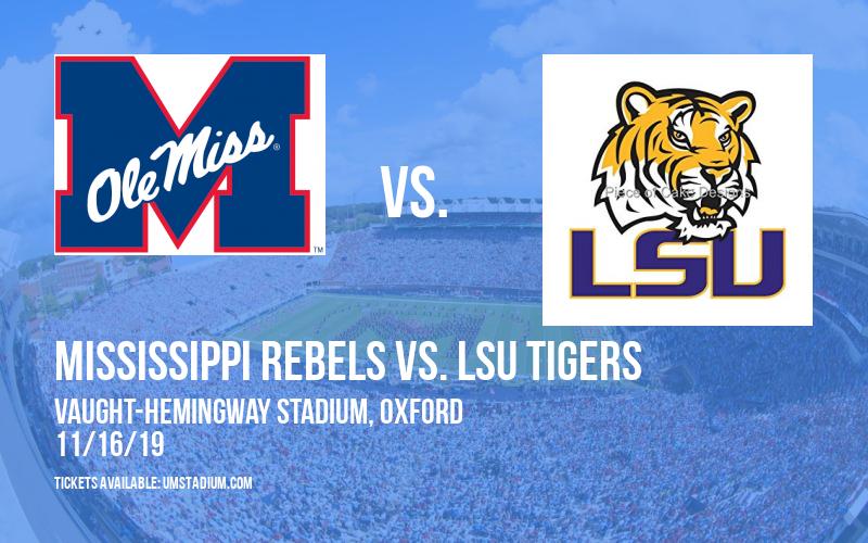 PARKING: Mississippi Rebels vs. LSU Tigers at Vaught-Hemingway Stadium