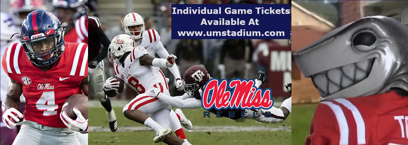 Mississippi Rebels tickets