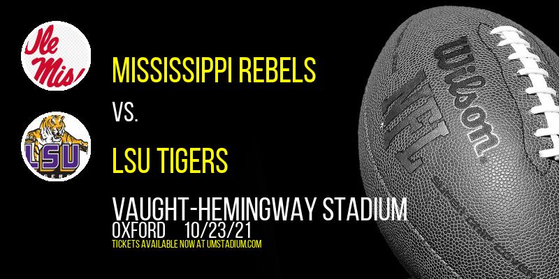 Mississippi Rebels vs. LSU Tigers at Vaught-Hemingway Stadium