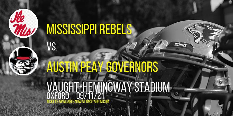 Mississippi Rebels vs. Austin Peay Governors at Vaught-Hemingway Stadium
